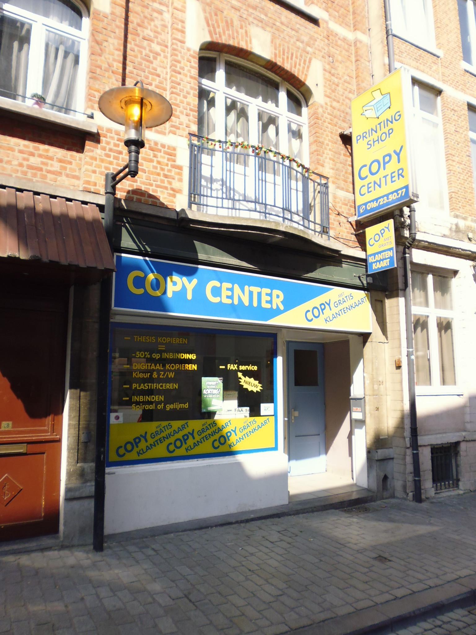 printing-shop naamsestraat Leuvn