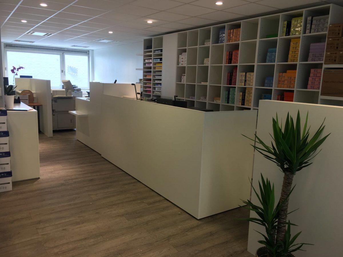 Rénovation du magasin à Namur en juillet 2016
